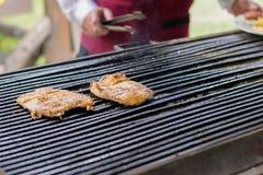 BBQ, Herb Chicken Breast imagens de stock royalty free