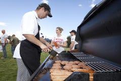 BBQ in het Park Stock Afbeelding