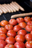 BBQ Hotplate Stock Photo