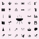 bbq icon. Party icons universal set for web and mobile royalty free illustration