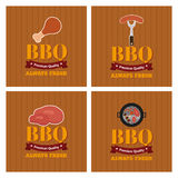 BBQ icon Stock Images