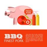 BBQ Illustration de vecteur illustration stock