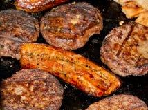 BBQ jedzenie Fotografia Royalty Free