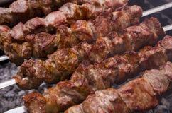 Bbq-kött Arkivfoton