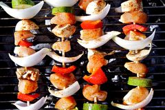 BBQ Kebab Royalty Free Stock Images