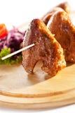 BBQ kurczaka skrzydła Fotografia Royalty Free