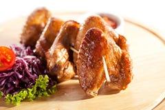 BBQ kurczaka skrzydła Zdjęcie Royalty Free
