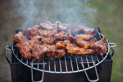 Bbq lamb chops Stock Images