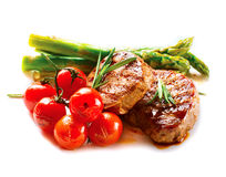 BBQ Lapje vlees royalty-vrije stock fotografie