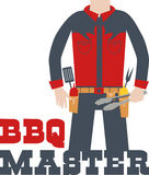 BBQ Master Royalty Free Stock Photography
