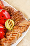 BBQ meat Stock Photos