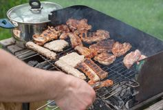 Meat Barbecue BBQ Stock Photos