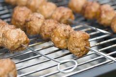 BBQ Meatballs Stock Photos