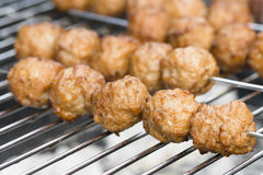 BBQ Meatballs Royalty Free Stock Image