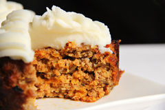 BBQ Meatloaf Cupcake inside Stock Image