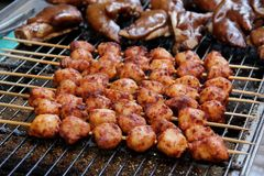 BBQ mięsa zdjęcia stock