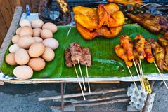 Bbq-Nahrungsmittel Stockfotos