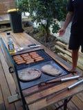 BBQ in Nieuw Zeeland Stock Afbeelding