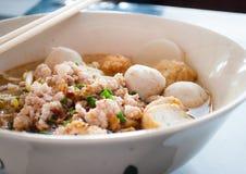 bbq noodle της Μαλαισίας τροφίμων χοιρινό κρέας Στοκ φωτογραφίες με δικαίωμα ελεύθερης χρήσης