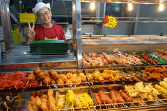 BBQ och Shabu-Shabu appell Lok Lok i Penang royaltyfri bild