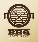 Bbq ontwerp Royalty-vrije Stock Foto