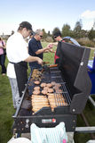 BBQ in the Park Stock Images