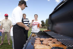 BBQ in the Park Stock Photography