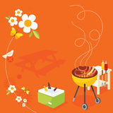 BBQ Party Stock Photography