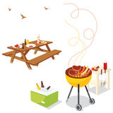 BBQ Party Stock Images