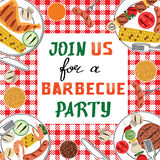 BBQ party Stock Image