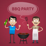 BBQ Party concept Stock Photos