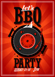 Bbq party design. Royalty Free Stock Images