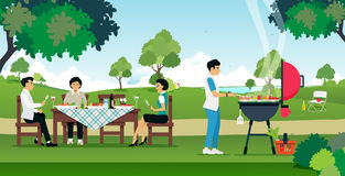 BBQ Party Royalty Free Stock Image