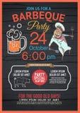 BBQ party menu is unique, Stock Photography