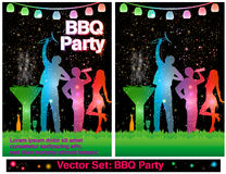 BBQ Party Stock Photo