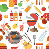 BBQ party seamless Stock Photography
