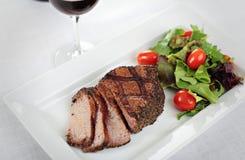 BBQ pepper steak Royalty Free Stock Image