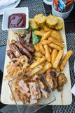 BBQ Platter Stock Photography