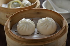 BBQ pork bun Royalty Free Stock Photography
