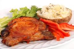 bbq pork chop Royalty Free Stock Photography