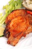 Bbq pork chop Royalty Free Stock Photo