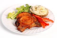 Bbq pork chop Royalty Free Stock Image