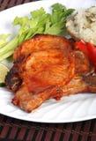 Bbq pork chop Stock Photos