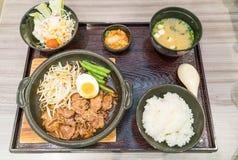 BBQ pork japanese style Royalty Free Stock Photo