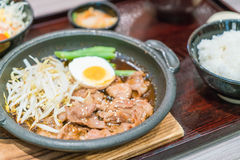 BBQ pork japanese style Stock Images