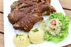 BBQ pork knuckle Royalty Free Stock Photo
