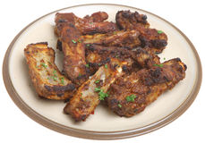 BBQ Pork Ribs Stock Photos