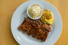BBQ pork ribs Stock Photo