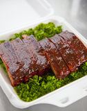 BBQ Pork ribs Stock Image