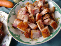 Crispy Roast Pork Belly Stock Images